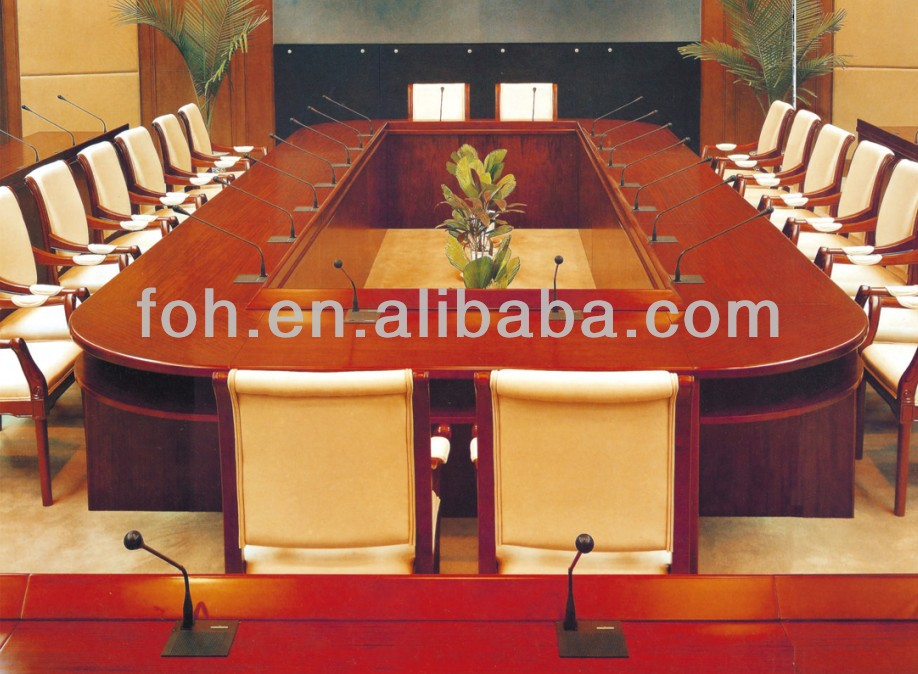 Classic Wood Boat Shape To Person Big Meeting Table Fohsc - 30 conference table