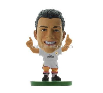 Grossen Kopf Kunststoff Fussball Figur Lebensechte Ronaldo Sterne Benutzerdefinierte Fussballspieler Figur Oem Kunststoff Miniatur Fussball Figuren Buy