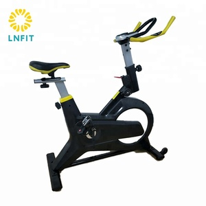 handlebar adjustable orbitrac star assault tension control iron body commercial gym exercise bike for arm and leg
