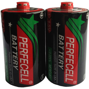 Best 1.5v Um1 R20 Size D Dry Cell Battery Factory In China
