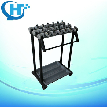 18 holes luxury high quality lock umbrella rack