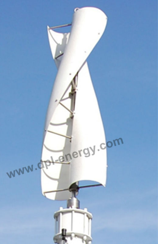 500W vertical axis wind generator power wind DC 24V