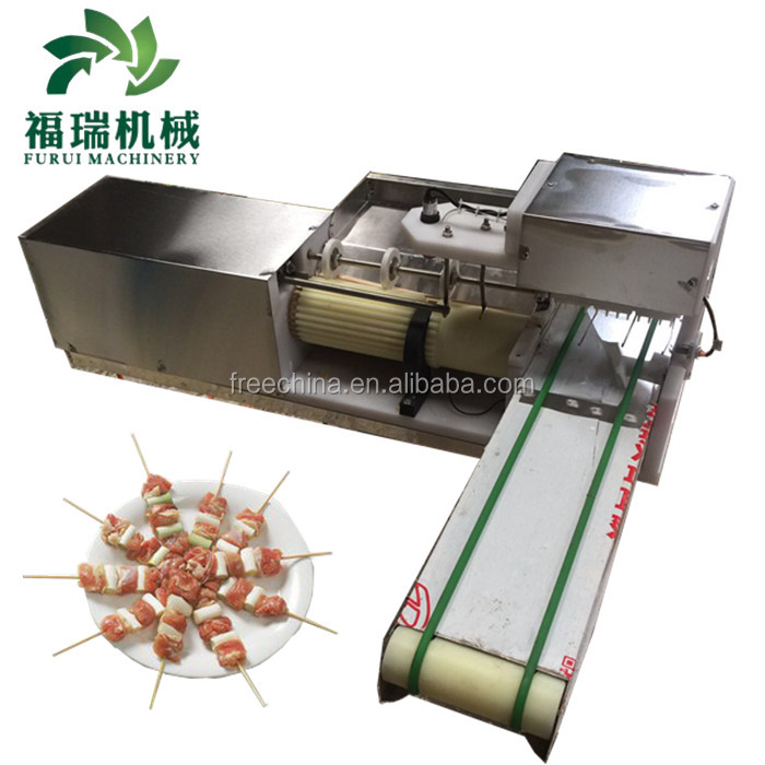 Skewer meat stick machine for sale/kebab skewer machine