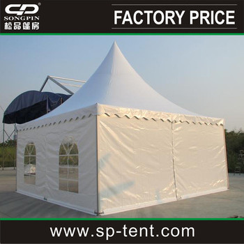Outdoor Flat Roof Pavilion Tent 20x20 Ft With Half Windows Sides And Plain  Sides - Buy Outdoor Flat Roof Pavilion Tent,Pavilion Tent 20x20 Ft,Flat