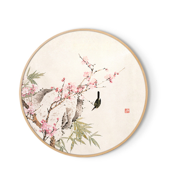 Oriental Bird and Flower Traditional Painting Art