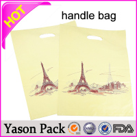 YASON canvas tote bag rope handlegenuine leather bag handlemetal bag handle