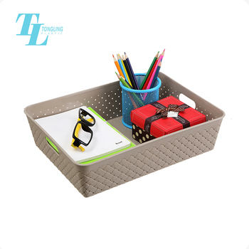 Wholesale huangyan tongling plastic storage tray