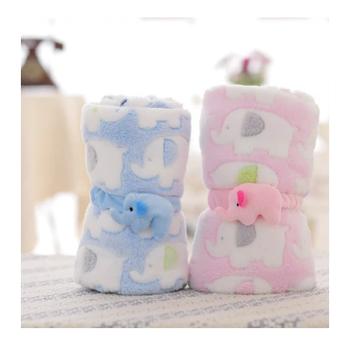 High quality 3D print Baby animal blanket for winter