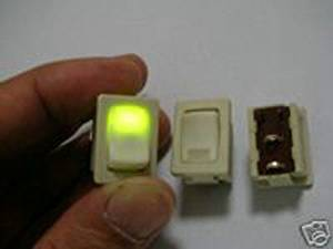 HOT SALE!!! BARGAIN PRICE!!! 1pc Solteam illuminated Indicator Led AC Rocker Switch S in Business