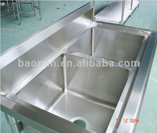 Exceptional Restaurant Kitchen Sink/commercial Stainless Steel Sink/wash Sink For Hotel