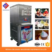 Healthy Fruit yogurt Rainbow soft serve ice cream maker machines
