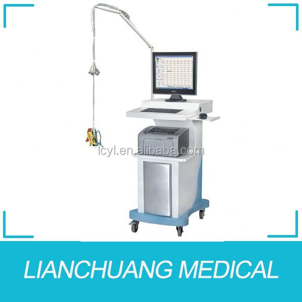 China best hospital electrocardiograph ECG workstation