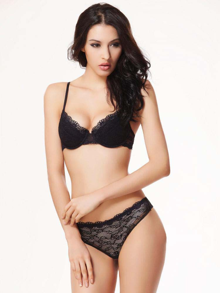 3ffbadae6 Buy Cup size 34B 40D 38C 36C 36D ashion transparent sexy lace bra plus size  Women gauze embroidery ultra-thin navy blue underwear in Cheap Price on  Alibaba. ...