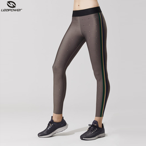 Wholesale workout apparel fitness 4 way stretch yoga leggings activewear ladies lycra yoga pants