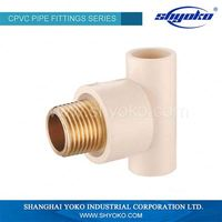 Ball valve manufacture supply high quaity cpvc ball valve with stainless steel handle