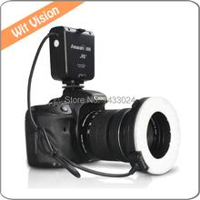 Halo HN100 CRI 95  Macro LED Ring Flash/Continuous Light For D7100 D7000 D5200 D5100 D800 D800E D700 D3200 D600 D90 DSLR Camera