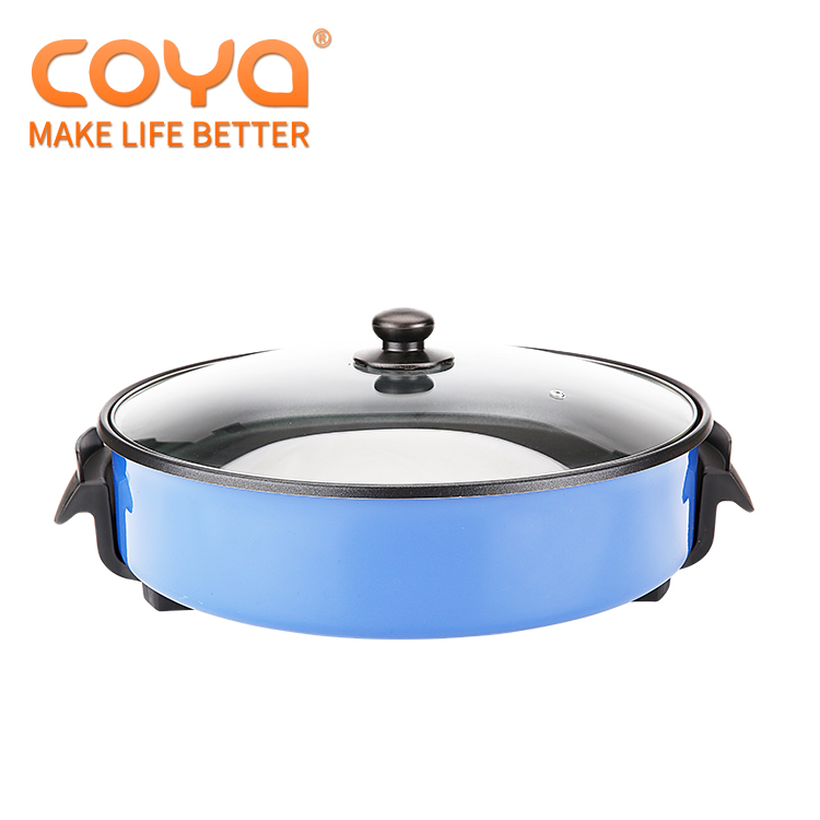 China fabrikant friteuse 1500 whigh kwaliteit koffie hot plaat flipping omelet pan indoor elektrische barbecue grills