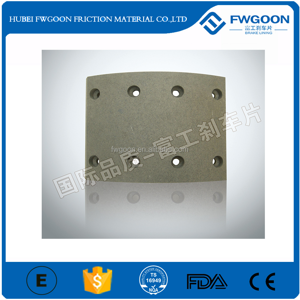 Frasle Quality Truck Spare Part Brake Lining for China Truck CA151