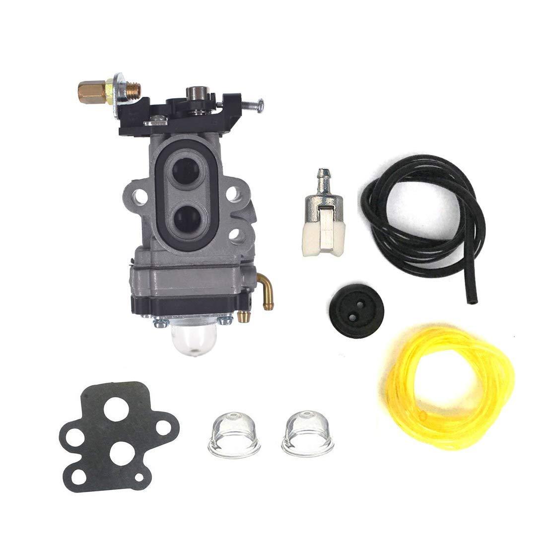 HQParts (2-5 Days) Carburetor Carb & Fuel line for Redmax 511354201 CHTZ2401 HTZ2401 CHTZ2460 HTZ2460 Carb WYA-1-1