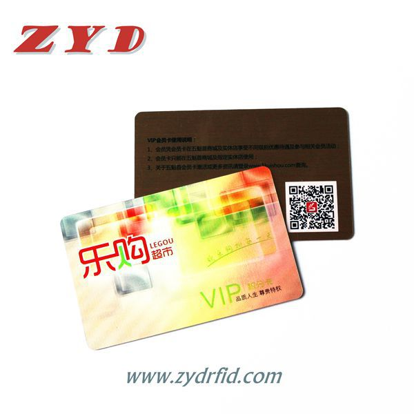 Customized printing RFID plastic card 13.56MHz