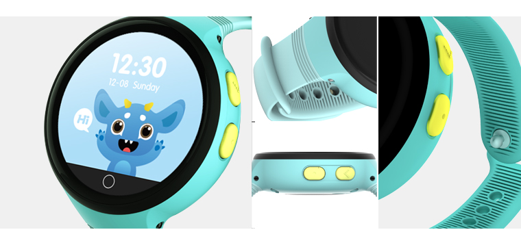 2017 APPSCOMM Smart Watch Waterproof Bluetooth GPS Positionning Pedometer Fitness Tracker for Kids