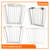 easy step walk thru gate metal safety gate fence