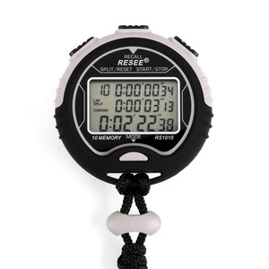 1/1000 second digital countdown stop watch timer device