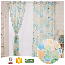 2016 Top Quality 10 Years Experience Flower lined cafe curtains