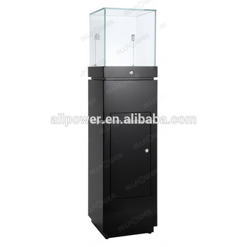 Latest Luxury Glass Jewellery Display Stand Cabinet With Rotatable Fascinating Bracelets Display Stands