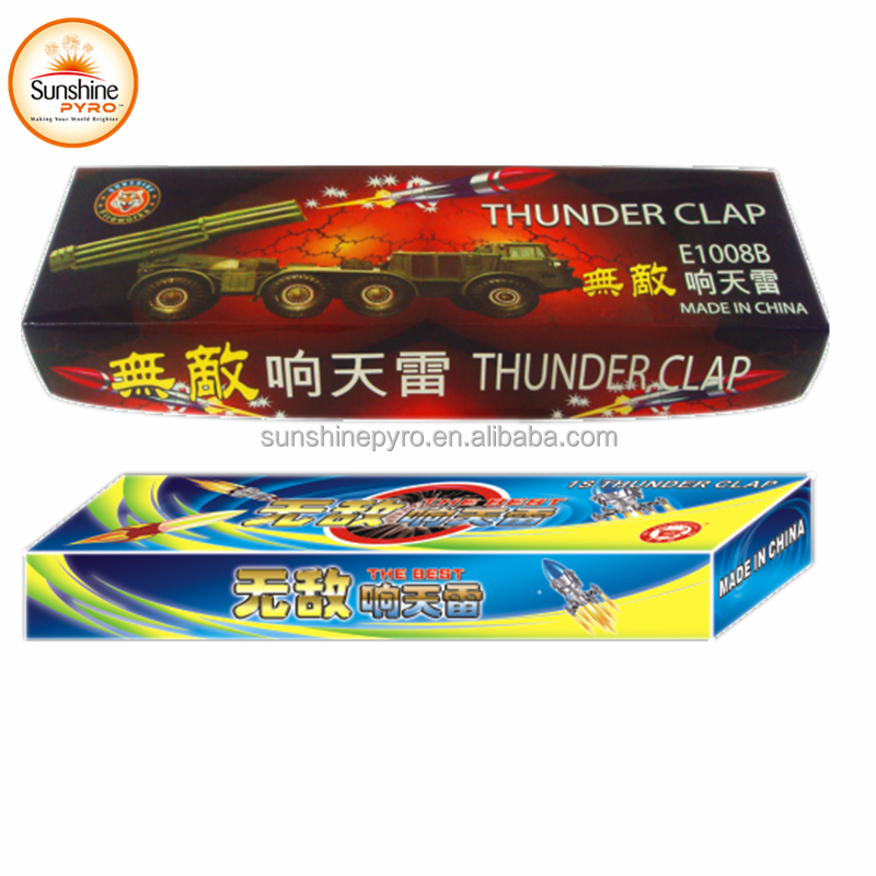 E1008B Thunder Clap Small Rocket Toy Fireworks