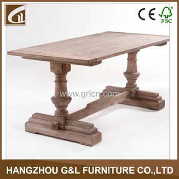French Country Style Antique Solid Oak
