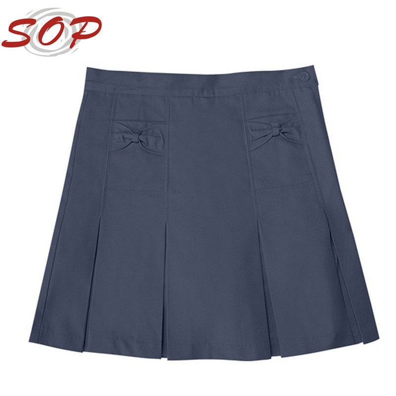 2016 Hot New Child Apparel Different Types Of Navy Skirt ...