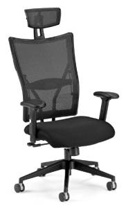 OFM Ultimate Executive Fabric Seat Hi-Back Mesh Chair