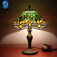 Power outlet hotel lamps 2018 trending products dragonfly pattern glass lampshade