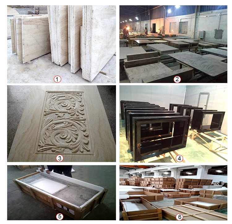 Low price high quality square marble top dinning table