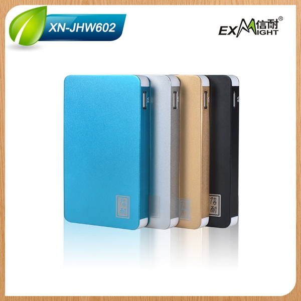 new unique product ideas super slim power bank 6000mah