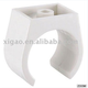 plastic conduit pipe fittings white pvc clips/clamp fittings