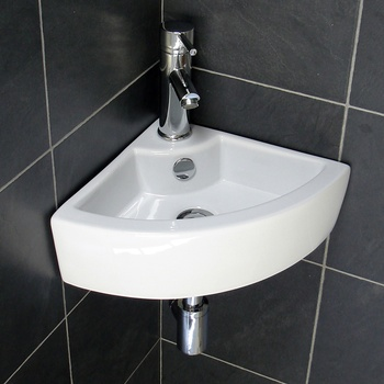 Cupc Wall Mount Designs Corner Bathroom Sink For Small Bathrooms Unit
