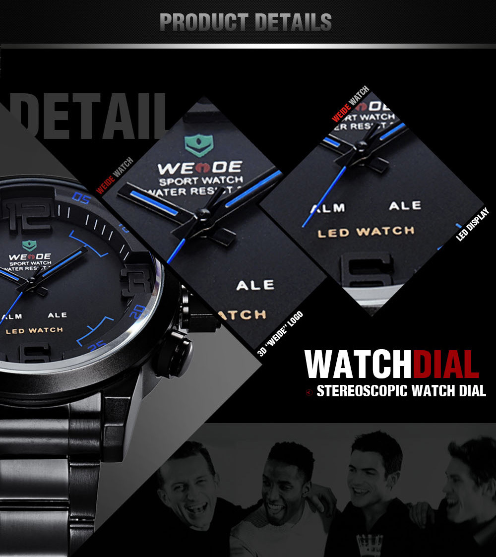 Weide Wh2309 Movement Watch Best Selling Men Sports Military ...