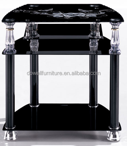 African best selling cheap glass tv stand tv tables lcd tv stand home furniture