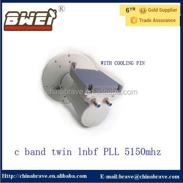 c band lnb 13k top quality twin c band lnb teflon can be selected