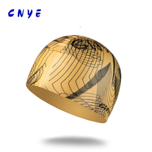 CNYE 2017 fashion design silicone swimming cap with Quality assurance