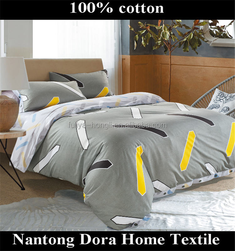 wholesale printed bed sheet 100% cotton bedding set winter bed sheet sets for Dubai made in china