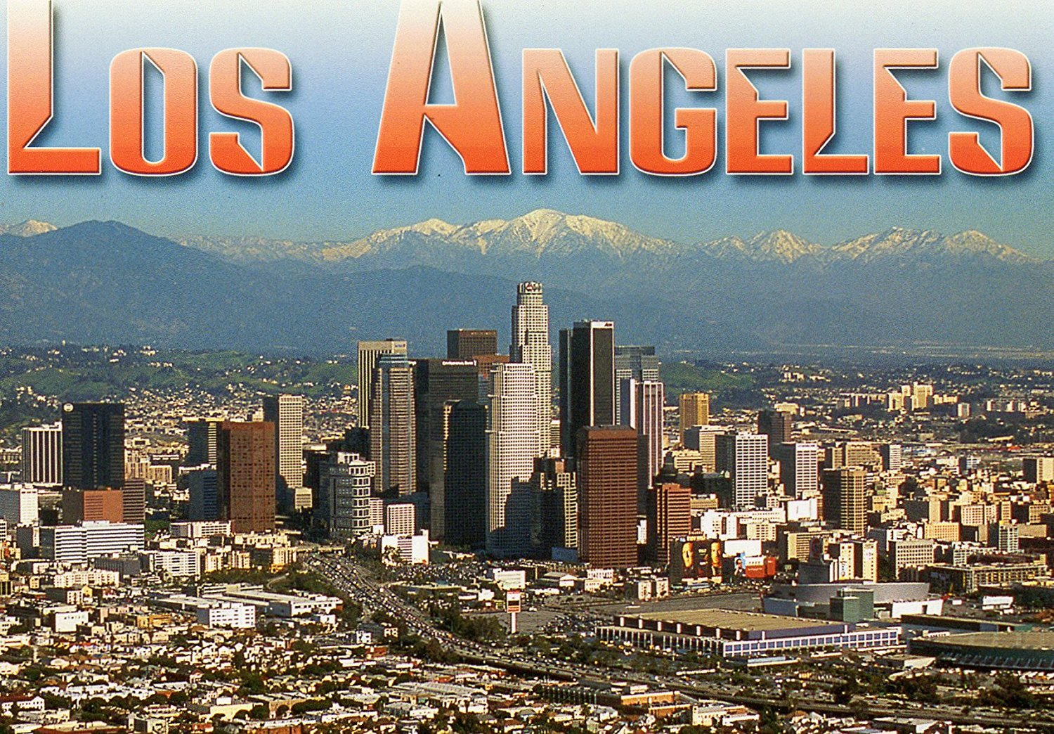 LOS ANGELES DOWNTOWN & CONVENTION CENTER T-912 POSTCARD .... from Hibiscus Express
