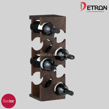 Holz Wein Aufsteller,Wand Weinregal Für Küche - Buy Product on ...
