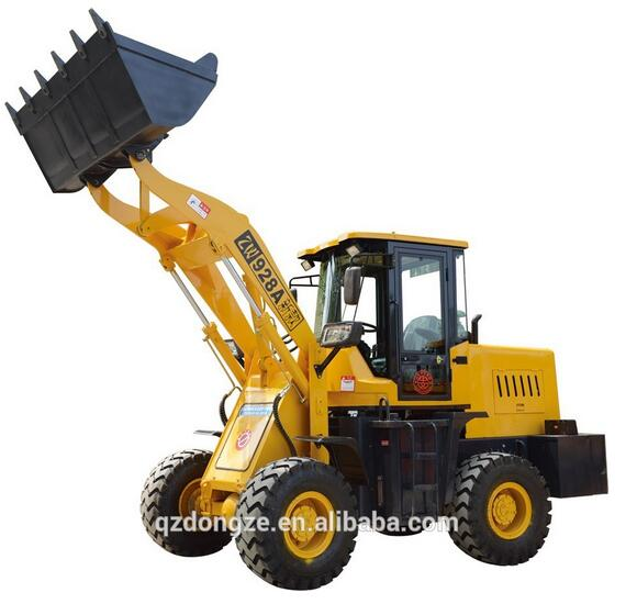 Miniloader with quick hitch zl30 wheel loader
