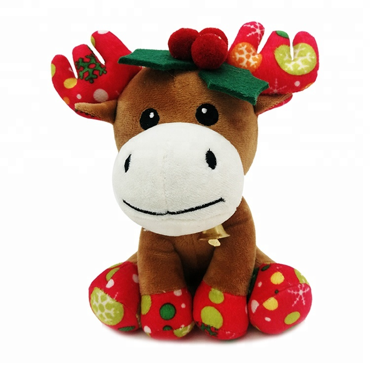 OEM Wholesale Reindeer Christmas Plush <strong>Toy</strong>