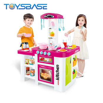 Multifunction Electronic Kitchen Toy Set With 46 Accessories