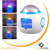 Goldmore LED Music Electronic Clock Starry Night Light for bedroom
