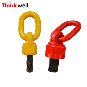 Safety Transport Points Grade 80 Swivel Lifting Eye Bolt with Ring